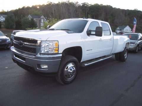 loaded 2011 Chevrolet Silverado 3500 LTZ Crew Cab for sale