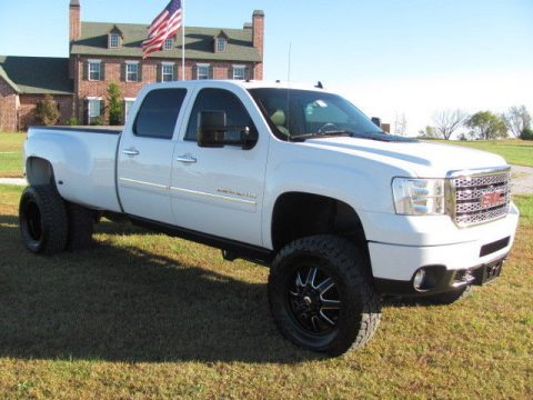 lots of extras 2011 GMC Sierra 3500 Denali crew cab for sale