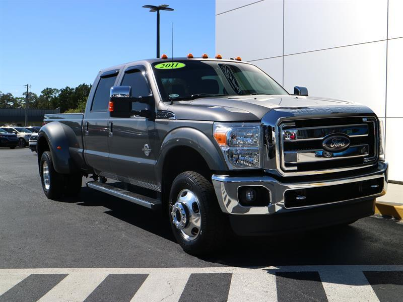 low miles 2011 Ford F 350 crew cab