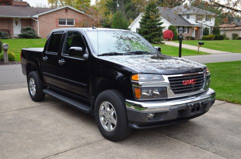 low miles 2011 GMC Canyon SLE crew cab for sale