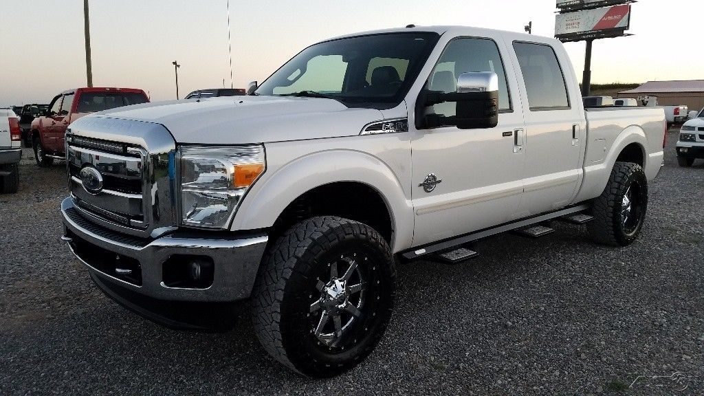 serviced 2011 Ford F 250 Lariat crew cab