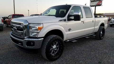 serviced 2011 Ford F 250 Lariat crew cab for sale