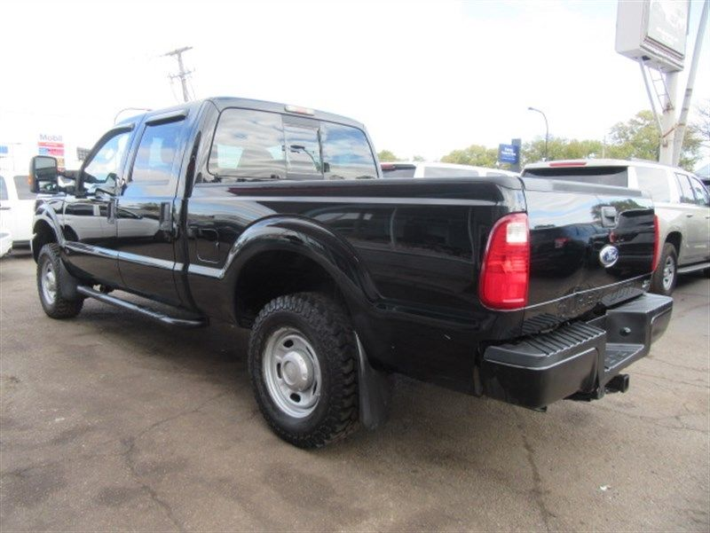 serviced 2011 Ford F 250 XL crew cab