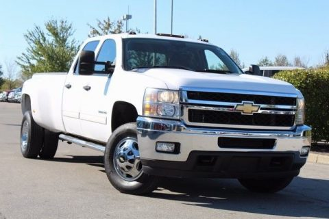 super low miles 2011 Chevrolet Silverado 3500 LT crew cab for sale