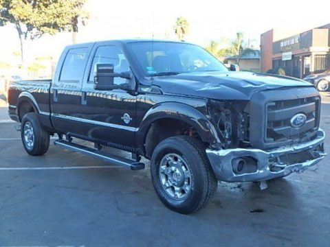 damaged 2012 Ford F 250 XL Crew Cab for sale