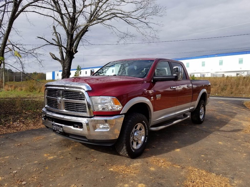 excellent shape 2012 ram 2500 laramie crew cab for sale. Black Bedroom Furniture Sets. Home Design Ideas
