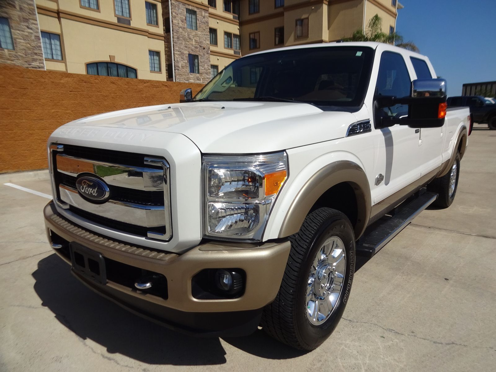 Loaded 2012 Ford F 250 King Ranch Crew Cab For Sale