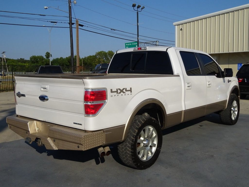 loaded beauty 2012 Ford F 150 KING Ranch CREW CAB