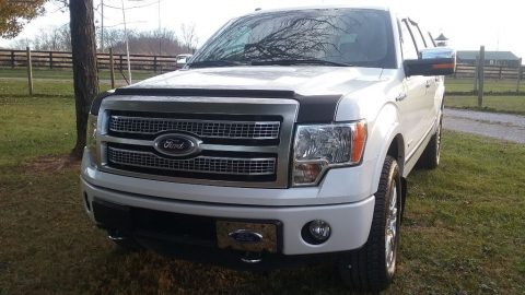 new tires 2012 Ford F 150 Platinum crew cab for sale