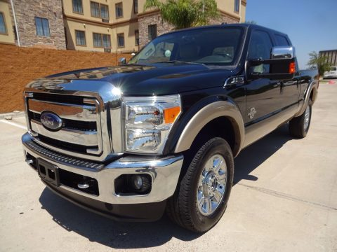 well equipped 2012 Ford F 250 Lariat crew cab for sale