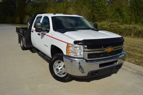 well serviced 2012 Chevrolet Silverado 3500 W/T crew cab for sale