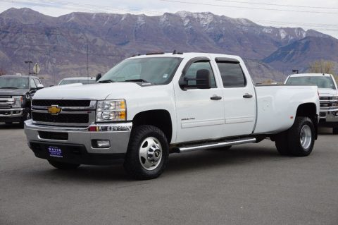 dually 2013 Chevrolet Silverado 3500 LT crew cab for sale