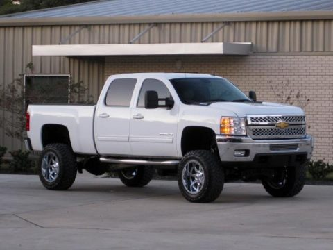 loaded 2013 Chevrolet Silverado 2500 CREW CAB for sale