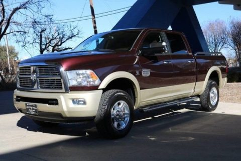 low miles 2012 Ram 2500 Laramie Longhorn crew cab for sale