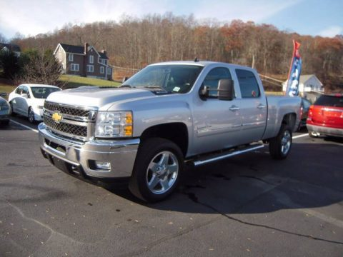 low miles 2013 Chevrolet Silverado 2500 LT 4×4 Crew Cab for sale