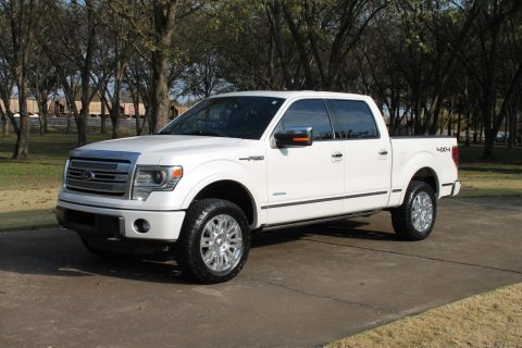 low miles 2013 Ford F 150 Platinum Crew Cab for sale