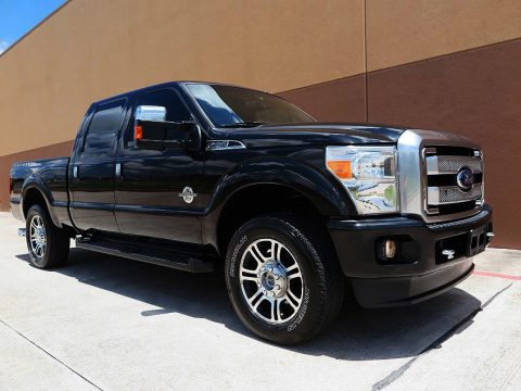 no rust 2013 Ford F 250 Platinum Crew cab for sale