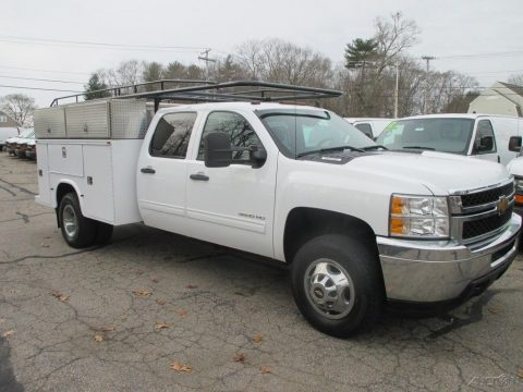 work truck 2013 Chevrolet Silverado 3500 LT crew cab for sale