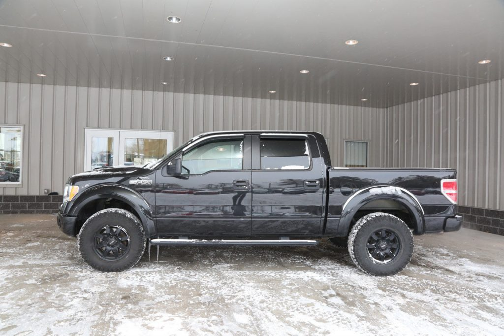 loaded 2014 Ford F 150 crew cab