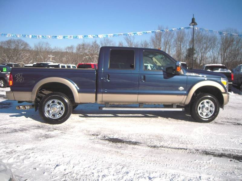 loaded with options 2014 Ford F 350 King Ranch Crew Cab