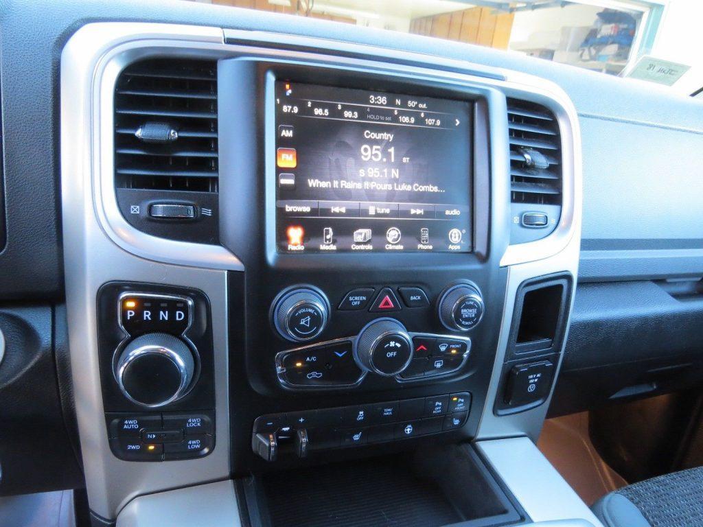 low mileage 2014 Dodge Ram 1500 Bighorn crew cab