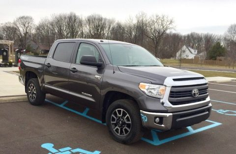 loaded 2015 Toyota Tundra TRD crew cab for sale