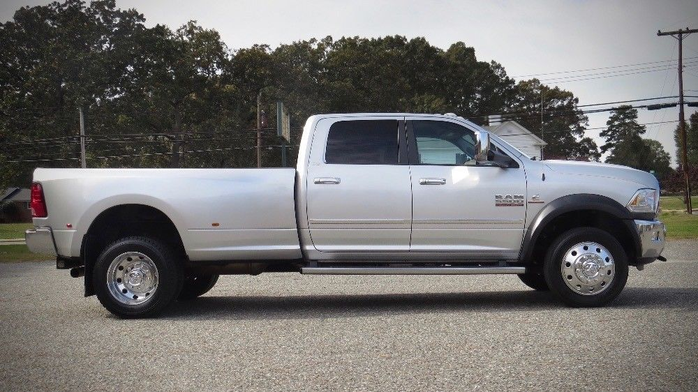 loaded custom 2015 Ram 5500 HD Laramie 4WD crew cab