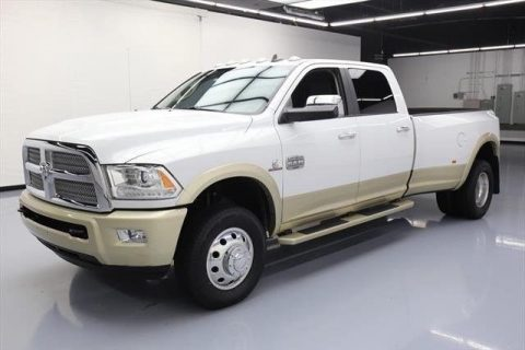 low miles 2015 Ram 3500 4×4 Laramie Longhorn Crew Cab for sale