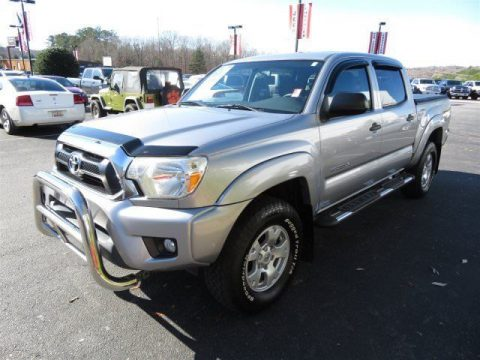 low miles 2015 Toyota Tacoma crew cab for sale
