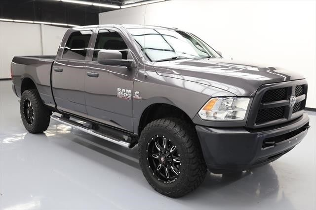 very low mileage 2015 Ram 2500 Tradesman crew cab