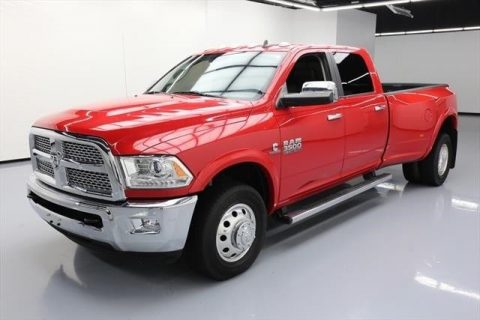 very low miles 2015 Ram 3500 Laramie crew cab for sale