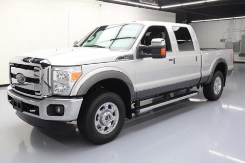 clean 2015 Ford F 250 Lariat 4dr Crew Cab for sale
