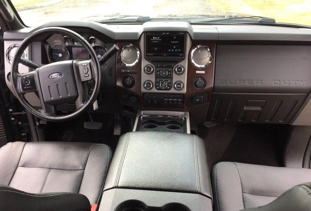 custom loaded 2015 Ford F 350 Lariat crew cab