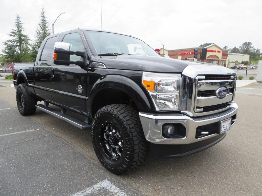 loaded 2015 Ford F 250 Lariat Pickup crew cab