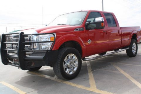 loaded 2015 Ford F 350 Lariat Crew Cab Long Bed 4WD for sale