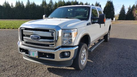 low mileage 2015 Ford F 350 xlt crew cab for sale