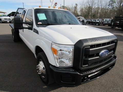 low miles 2015 Ford F 350 XL crew cab for sale