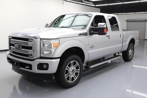 serviced 2015 Ford F 250 4×4 Platinum 4dr Crew Cab for sale