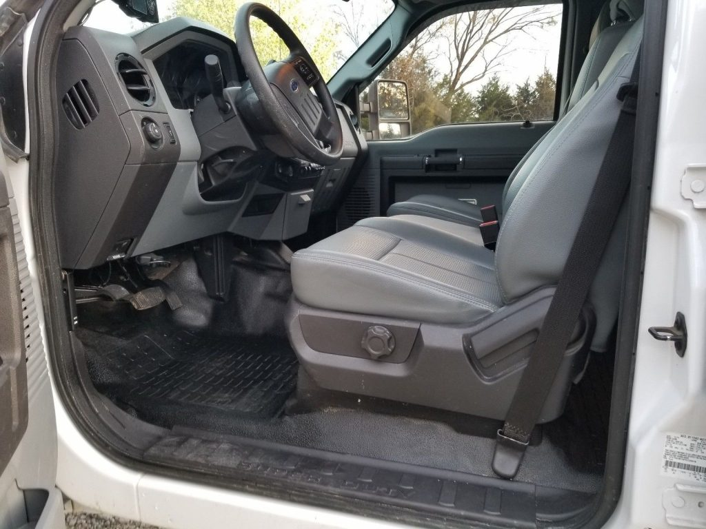 very low mileage 2015 Ford F 250 crew cab