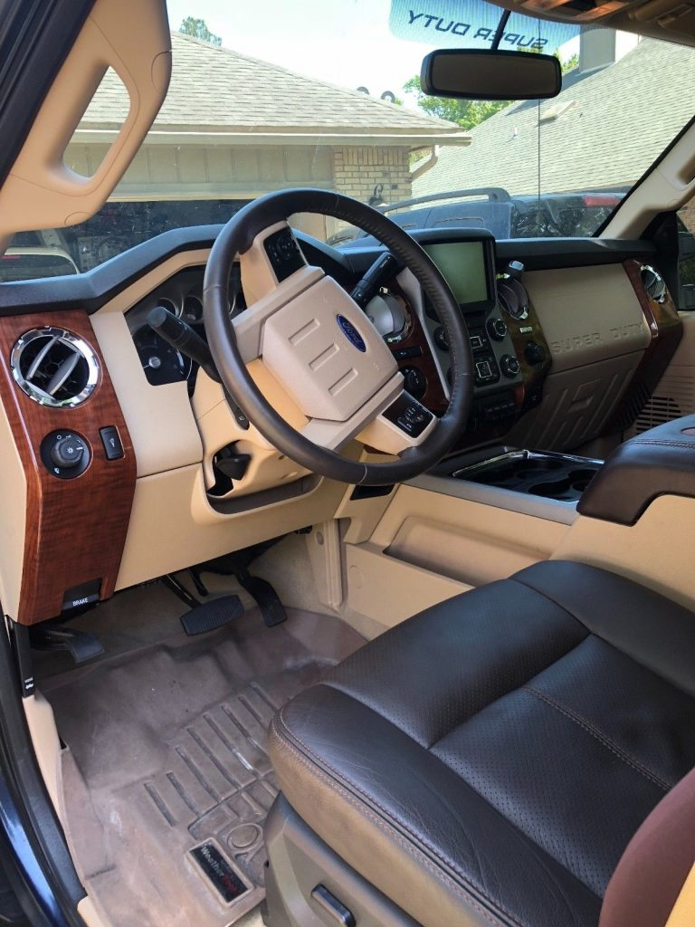 Very well taken care of 2015 Ford F 350 King Ranch Super Duty Crew Cab