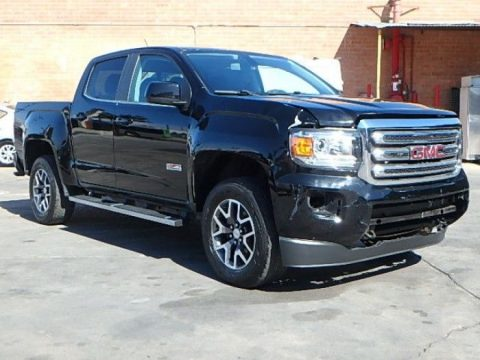 damaged 2015 GMC Canyon Crew Cab for sale