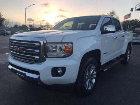 low mileage 2015 GMC Canyon SLT Crew Cab for sale