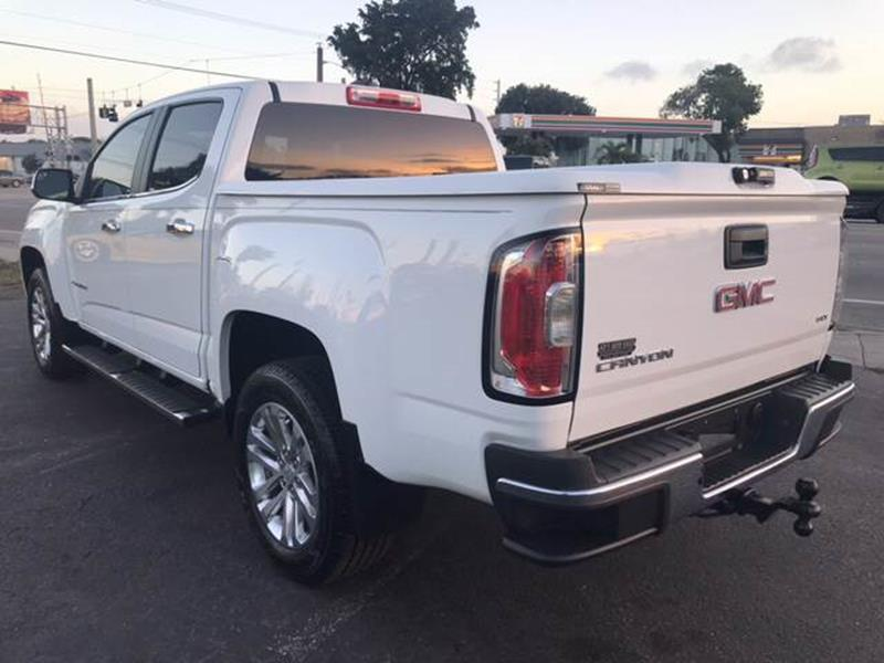 low mileage 2015 GMC Canyon SLT Crew Cab