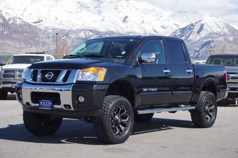 low miles 2015 Nissan Titan SL crew cab for sale