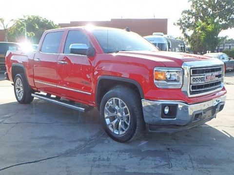 low miles needs repair 2015 GMC Sierra 1500 SLT Crew Cab for sale