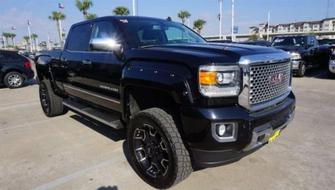 very low mileage 2015 GMC Sierra 2500 Denali crew cab for sale