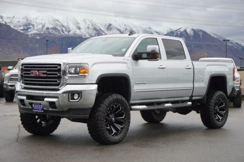custom wheels 2016 GMC Sierra 2500 SLT Z71 crew cab for sale