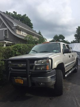 decent mileage 2004 Chevrolet Silverado 2500 crew cab for sale