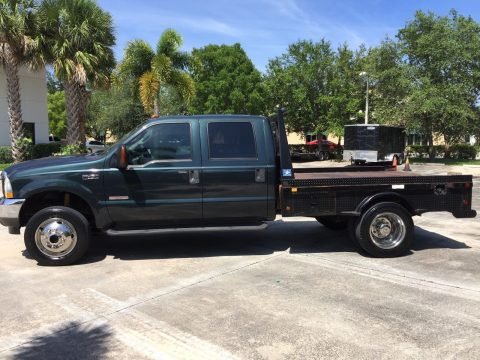 just serviced 2004 Ford F 450 Lariat flatbed crew cab for sale