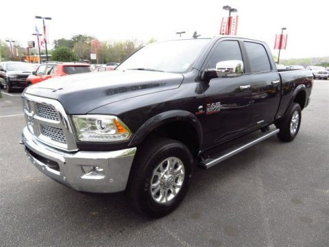 low miles 2017 Ram 2500 Laramie crew cab for sale